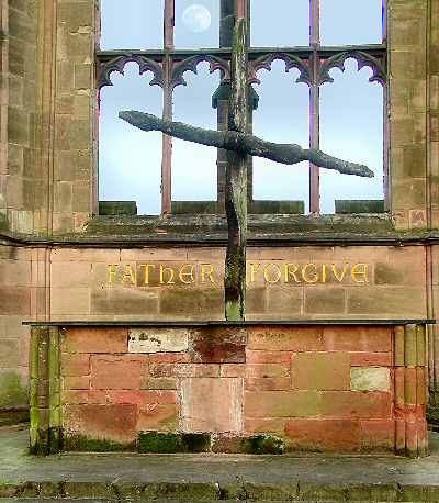 Image result for coventry cathedral cross